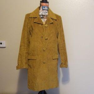 Missoni Gold corduroy coat